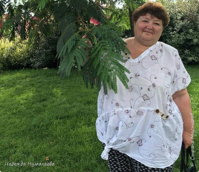 Нужна мне была х\б-шная блузка для поездки в жаркий Сочи  фото 6