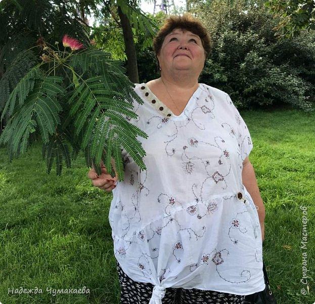 Нужна мне была х\б-шная блузка для поездки в жаркий Сочи  фото 1
