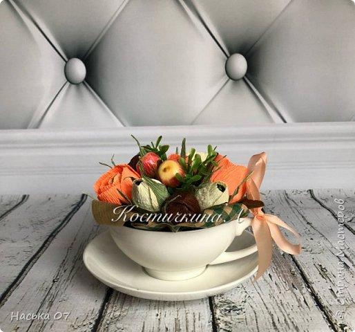 Всем всем жителям и гостям большущий ПРИВЕТ)Осень пришла к нам и принесла много ярких красок и вдохновения))) Начну с поделки в сад.Вот такой веночек у меня получился. фото 5