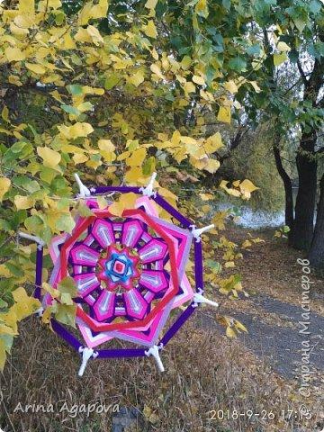 Осень дарит яркие краски и вдохновение. Вот такая красавица получилась у меня  фото 2