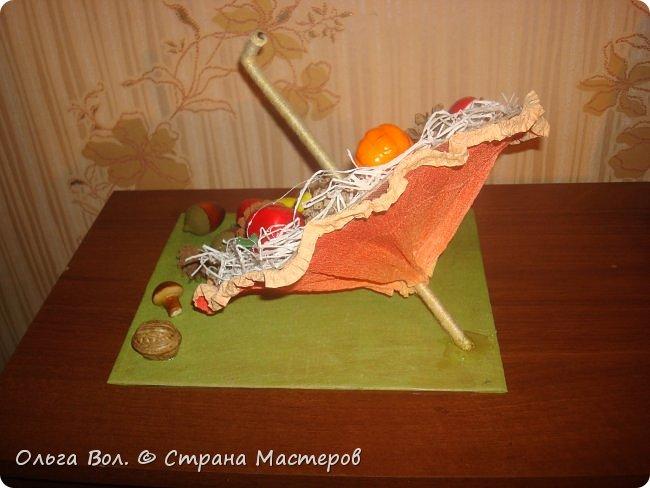 Осенний зонтик для школьной выставки. фото 2