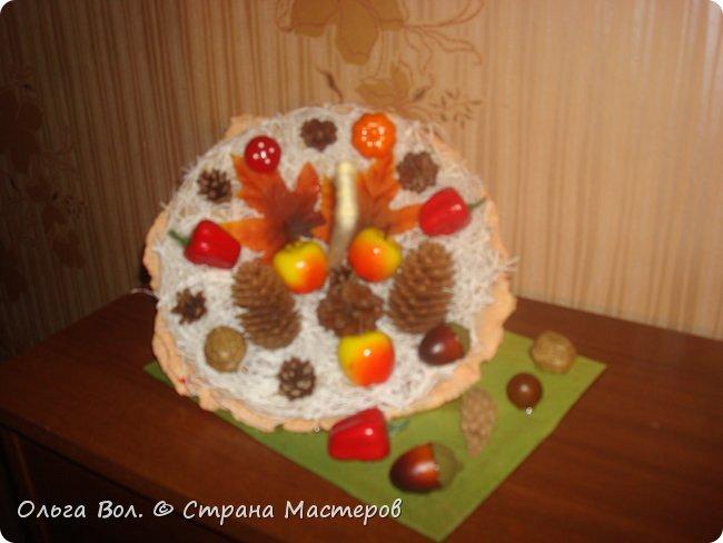 Осенний зонтик для школьной выставки. фото 3