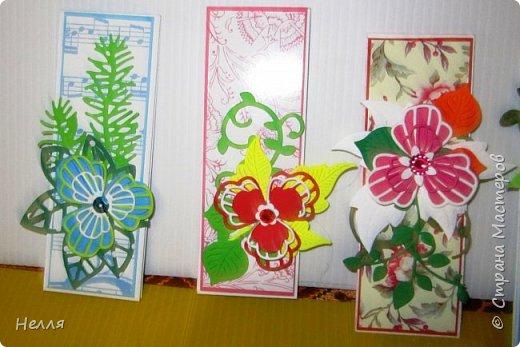 """Сегодня поздравила своих коллег """" С праздником дошкольных работников"""". Давно хотела сделать такие маленькие открыточки. фото 4"""