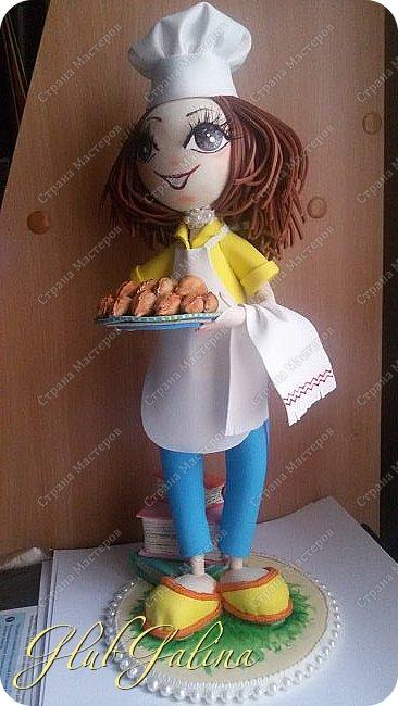 Очередной заказ на куколку выполнен. фото 3