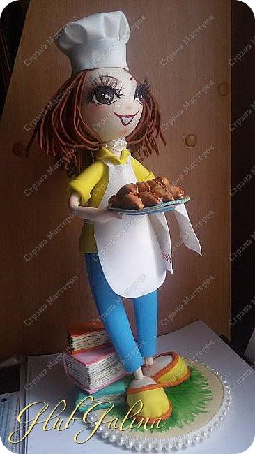 Очередной заказ на куколку выполнен. фото 2