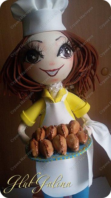 Очередной заказ на куколку выполнен. фото 1