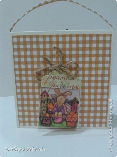 Открытки-сумочки ко дню рождения. Делала по МК https://stranamasterov.ru/node/1143506?c=favorite Лисички, листик и ягодка из фетра (набор из фикс-прайса) фото 4