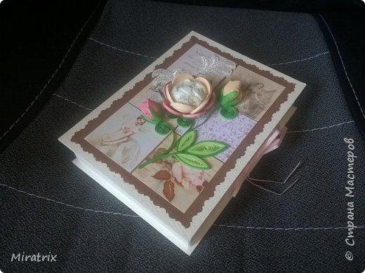 <em>Август 2018г</em> Коробочка с подарком для подруги. Внутри - книга и брелок-головоломка. фото 4
