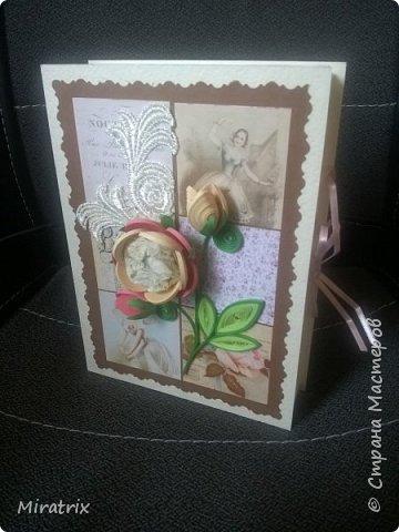 <em>Август 2018г</em> Коробочка с подарком для подруги. Внутри - книга и брелок-головоломка. фото 5