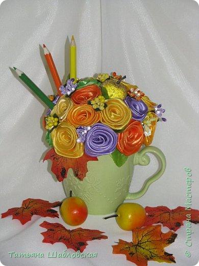 Доброго времени суток, уважаемые Мастерицы. Сделала такие сувенирчики на День дошкольного работника нашим воспитателям и помошнику воспитателя. Подарили вместе с основными подарками. фото 6