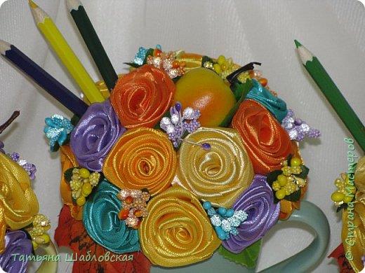 Доброго времени суток, уважаемые Мастерицы. Сделала такие сувенирчики на День дошкольного работника нашим воспитателям и помошнику воспитателя. Подарили вместе с основными подарками. фото 13