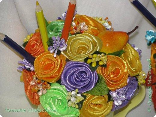 Доброго времени суток, уважаемые Мастерицы. Сделала такие сувенирчики на День дошкольного работника нашим воспитателям и помошнику воспитателя. Подарили вместе с основными подарками. фото 14