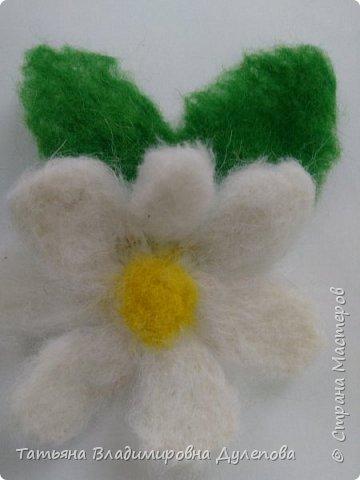 Листочек с цветком фото 1