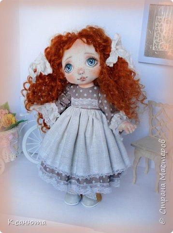 Моя нежная девочка. Кукла текстильная. фото 2