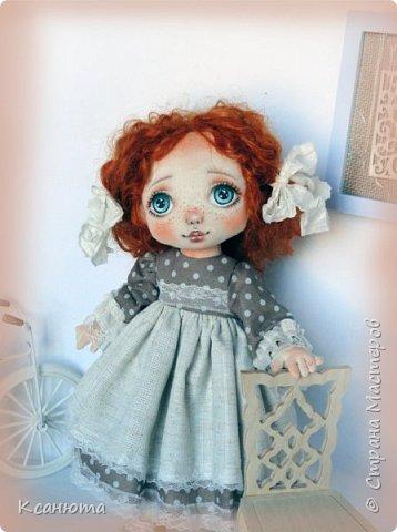 Моя нежная девочка. Кукла текстильная. фото 4