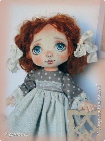 Моя нежная девочка. Кукла текстильная. фото 7