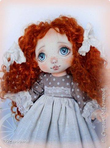 Моя нежная девочка. Кукла текстильная. фото 1