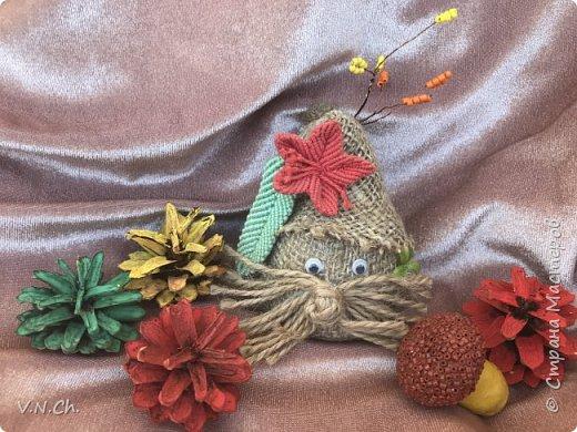 Ирина успела  сплести несколько листиков и цветочков. фото 2