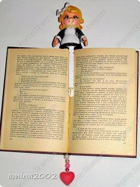 Доброго времени суток! Закладка для книг из фоамирана. фото 2