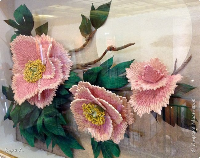 """Недавно мы были на выставке  """"Бумага - пятый элемент"""". Центр Корейского бумажного искусства и творчества предоставил отличную возможность полюбоваться своими шедеврами. Прогуляемся вместе по одному из выставочных залов музея Дарвина? фото 7"""