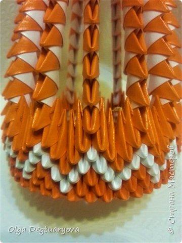 Приветствую жителей Страны Мастеров! Продолжаю хрюшкину тему. Вдохновившись шикарными работами Полины (https://stranamasterov.ru/node/1154013), я решила сделать свою версию для всех любителей модульного оригами. И у меня получилась Хрюша-салфетница. фото 8