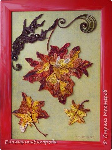 Сказочная вариация кленовых листьев. фото 1