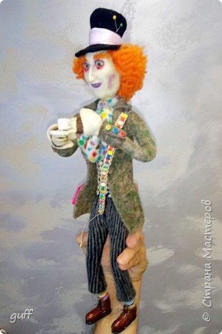 Интерьерная кукла Шляпник из «Алиса в стране чудес» фото 8