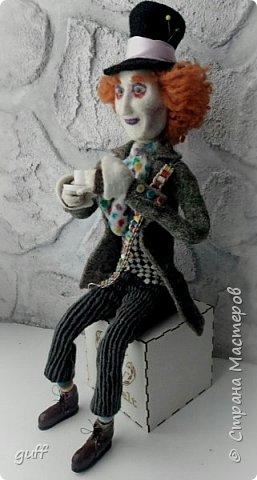 Интерьерная кукла Шляпник из «Алиса в стране чудес» фото 5