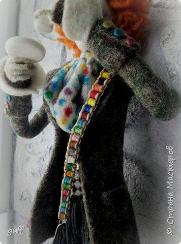 Интерьерная кукла Шляпник из «Алиса в стране чудес» фото 4