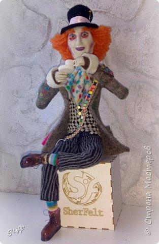 Интерьерная кукла Шляпник из «Алиса в стране чудес» фото 9
