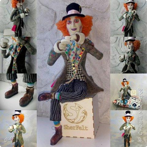 Интерьерная кукла Шляпник из «Алиса в стране чудес» фото 1
