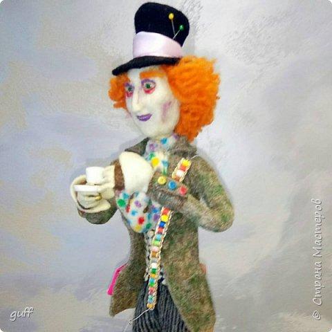 Интерьерная кукла Шляпник из «Алиса в стране чудес» фото 2