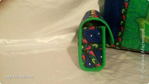 """Сумочка для моей подруги. Сумка сделана в буддийском стиле. Наружный карман  под молнией, украшен изображением """"Ладонь Ханумы"""", это своего рода оберег от сглаза. фото 3"""