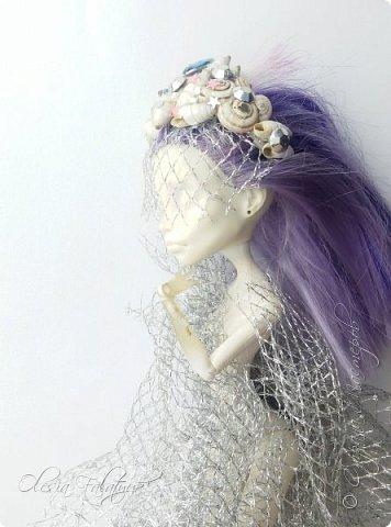 Ободок для волос с ракушками для Монстер Хай. фото 3