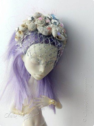 Ободок для волос с ракушками для Монстер Хай. фото 1