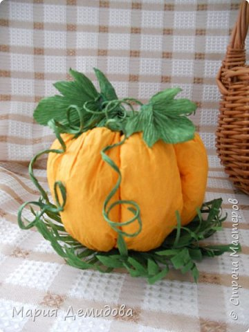 Осенняя композиция с тыквами фото 4