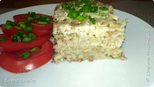 Вермишелевая запеканка с  отварным мясом-вкус из детства!