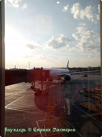 Всем привет! Недавно были в Турции. Мой фоторепортаж на эту тему. На фото можно видеть борт, на котором мы летели туда. Место: Международный аэропорт Шереметьево, терминал F. Время 8:30. фото 1