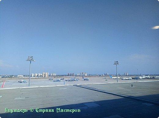 Всем привет! Недавно были в Турции. Мой фоторепортаж на эту тему. На фото можно видеть борт, на котором мы летели туда. Место: Международный аэропорт Шереметьево, терминал F. Время 8:30. фото 16