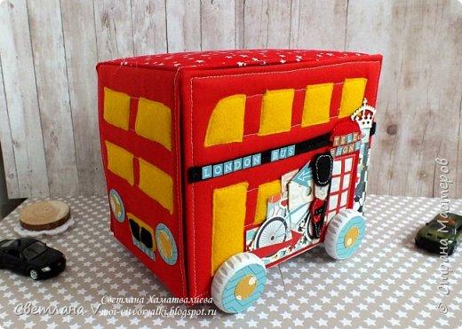 Всем привет! Хочу сегодня показать немного необычные мамины сокровища в виде лондонского автобуса: фото 1