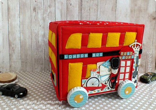 Всем привет! Хочу сегодня показать немного необычные мамины сокровища в виде лондонского автобуса: фото 2