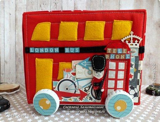 Всем привет! Хочу сегодня показать немного необычные мамины сокровища в виде лондонского автобуса: фото 3