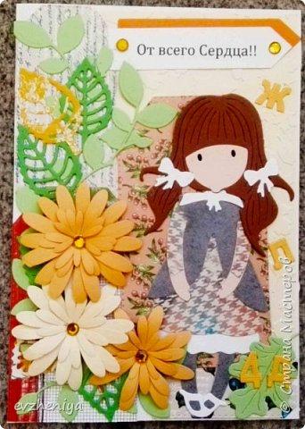 Насмотрелась я на шоколадниц Татьяны  https://stranamasterov.ru/node/1149975  и вспомнила, что пылится без дела ножик похожий.  И решила сделать открыточки. Таня, спасибо за вдохновение!!! фото 9