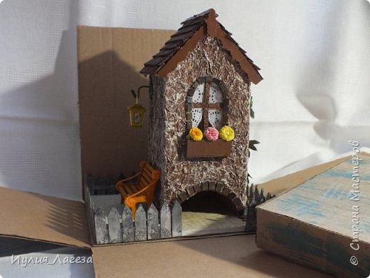 Второй чайный домик сделан для подарка.Прошу вас оценить мою работу, очень переживаю из-за молчания людей получивших его в дар. фото 11