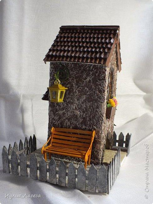 Второй чайный домик сделан для подарка.Прошу вас оценить мою работу, очень переживаю из-за молчания людей получивших его в дар. фото 5