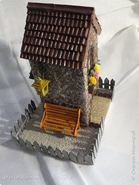 Второй чайный домик сделан для подарка.Прошу вас оценить мою работу, очень переживаю из-за молчания людей получивших его в дар. фото 6