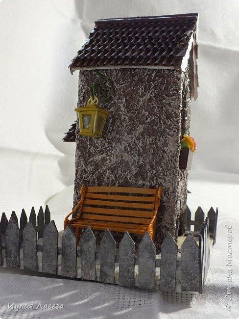 Второй чайный домик сделан для подарка.Прошу вас оценить мою работу, очень переживаю из-за молчания людей получивших его в дар. фото 7