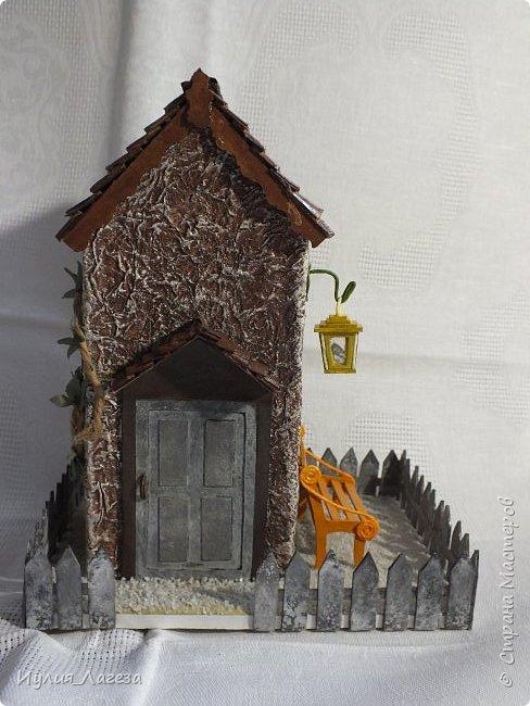 Второй чайный домик сделан для подарка.Прошу вас оценить мою работу, очень переживаю из-за молчания людей получивших его в дар. фото 4