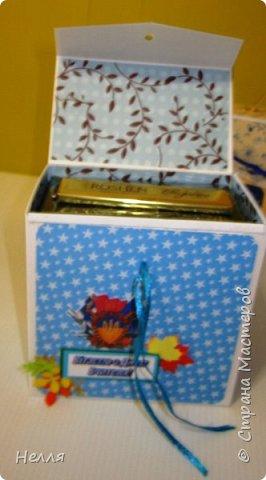 Попросил муж сделать бюджетные подарки на день Учителя. Решили сделать оригинальную упаковку для шоколадки и чая. Схему портфеля сделала, но хотелось на упаковке отразить предмет преподавателя. фото 11