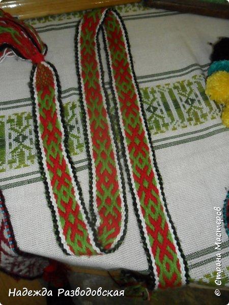 Пояса. Ручное ткачество фото 6